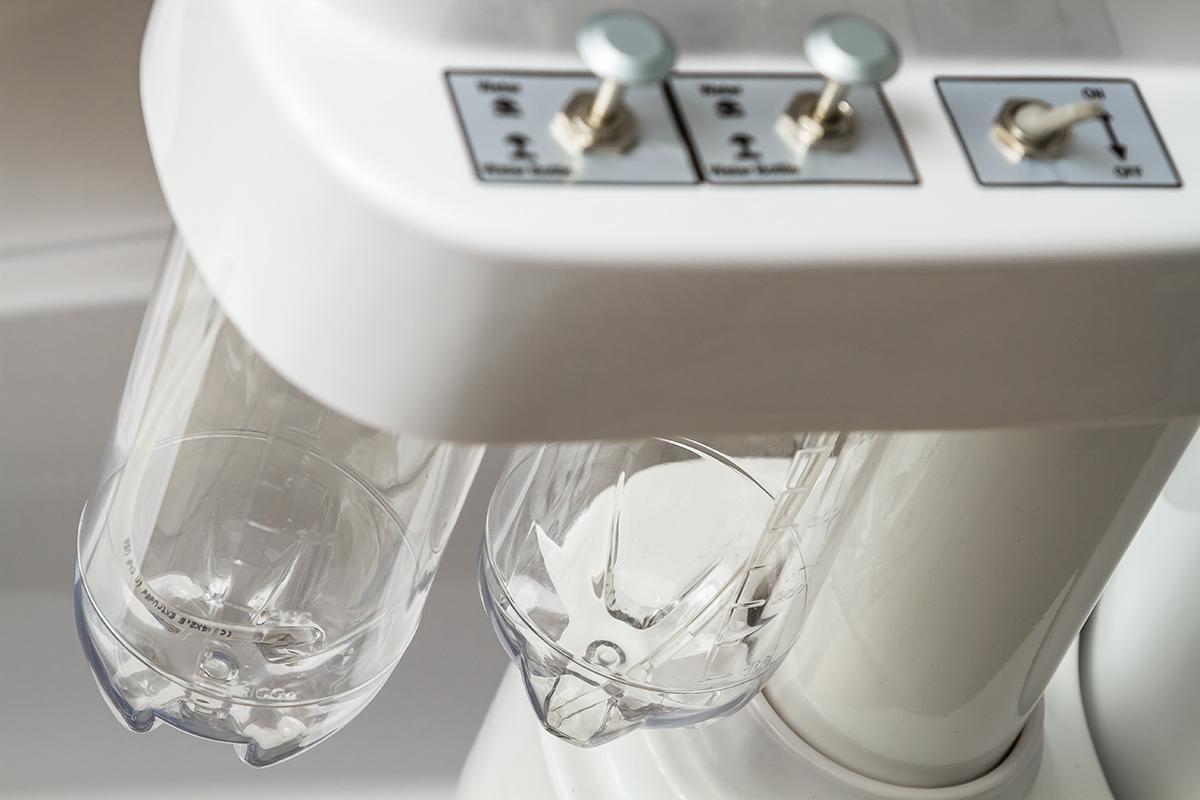 2 емкости для дистиллированной воды стоматологической установки Mercury 4800 II