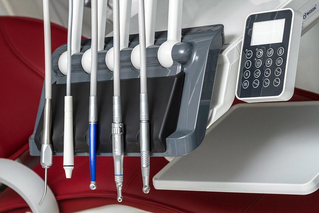 Блок врача верхней подачи стоматологической установки WOD730
