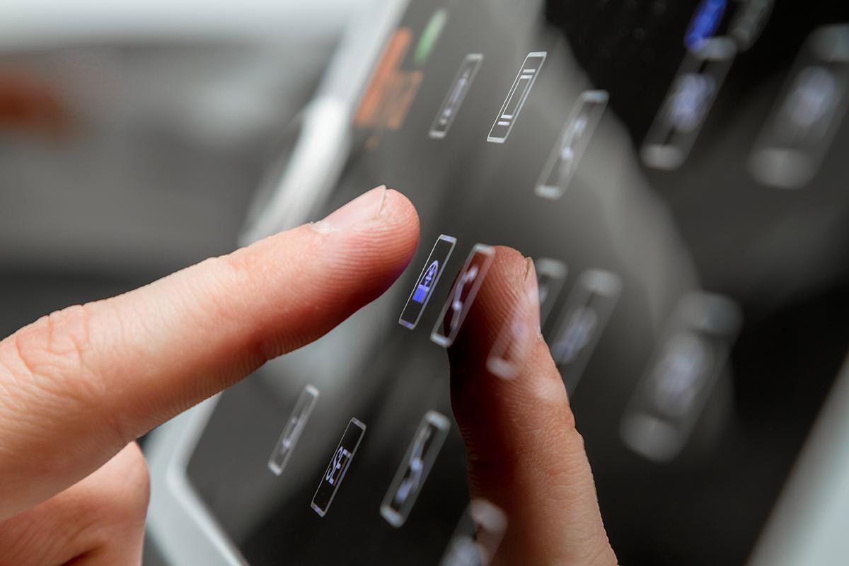 Touchscreen-панель стоматологической установки Mercury 4800